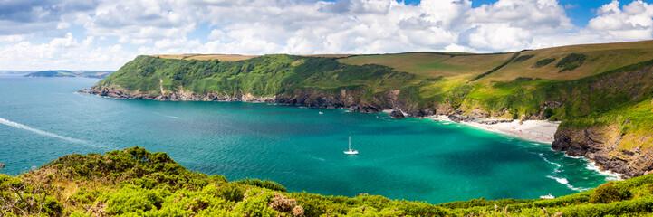 Lantic Bay Cornwall England