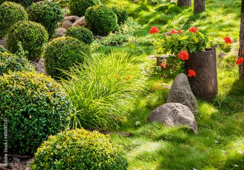 Papiers peints Jardin Garden and flowers
