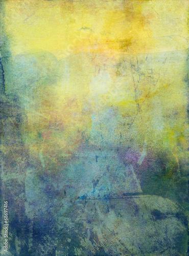 canvas print picture aquarell gouache textur