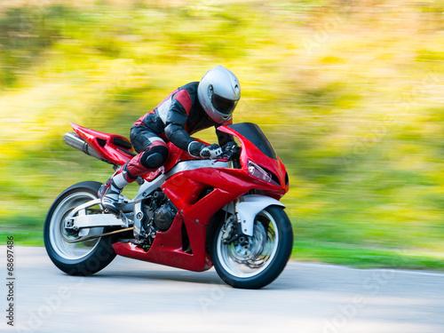 Motorbike racing - 68697486