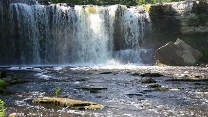 Waterfall in Keila-Joa in Estonia