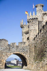 Ancient Castle in Ponferrada Spain