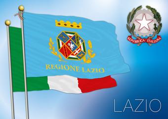 lazio regional flag