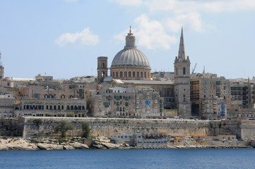 Malta, the picturesque city of Valetta