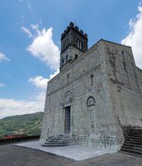 Barga Duomo originated in the 11th century