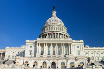 The US Capitol building, Washington DC.