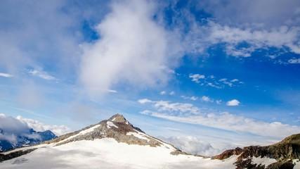 Zeitraffer - Wolken am Stubaier Gletscher