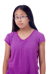 Teenage Girl With Wide-Opened Eyes