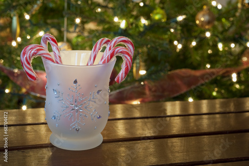 Jar of Candy Canes