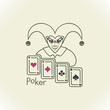 ������, ������: Joker and playing cards