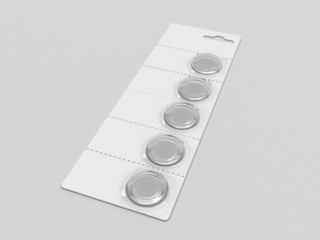 button cell battery (Blister Pack)