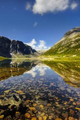 Piękny krajobraz Norweski, Lofoty, Grotli