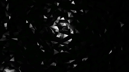 Abstract Grayscale Background Loop