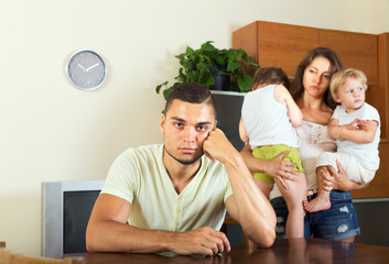 problems of young family