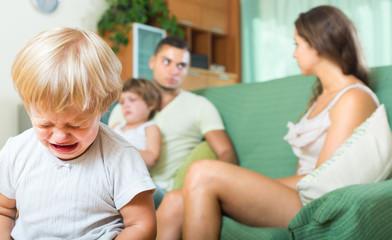 parents quarreling