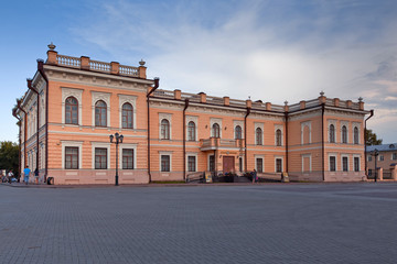 The Museum of lace on the Kremlin square in Vologda