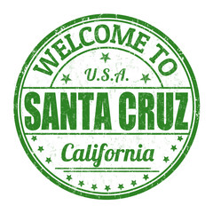 Welcome to Santa Cruz stamp