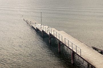 submerged pier