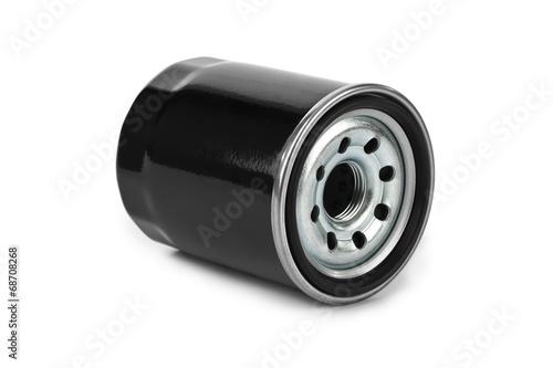 Leinwanddruck Bild New oil filter car