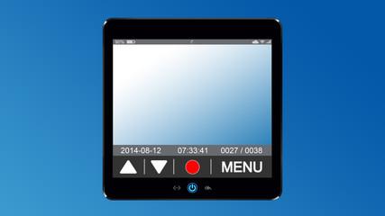 dashcam 1 - h-blau v-farbverlauf - g1041