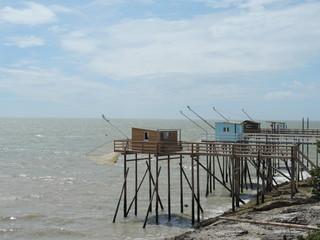 Cabanes de pêche