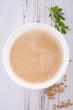 canvas print picture - lentil soup