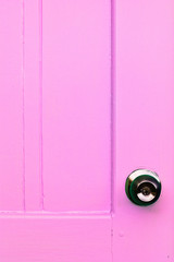 door color and door knobs