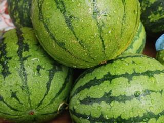 Watermelons market