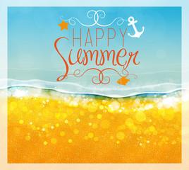 Spiaggia, mare, estate