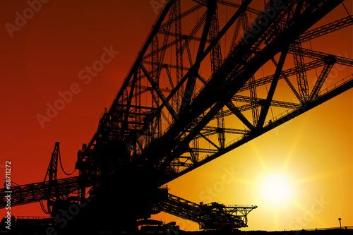 Förderbrücke - 68711272