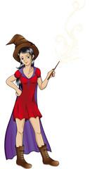 zauberhafte Hexe