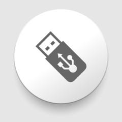 USB Flash drive vector icon