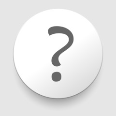 Question mark sign icon. Help symbol. FAQ sign