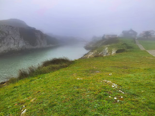 tions of fog in Galicia, Spain