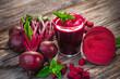 Leinwanddruck Bild - Beetroot Juice