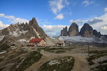 tre cime di Lavaredo e Monte Paterno