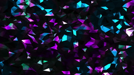 Abstract Geometric Noise Background Loop