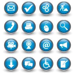 Web Buttons Sammlung