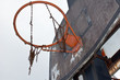 canvas print picture - Basketball
