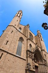 Santa Maria del Mar - Barcelona Spain