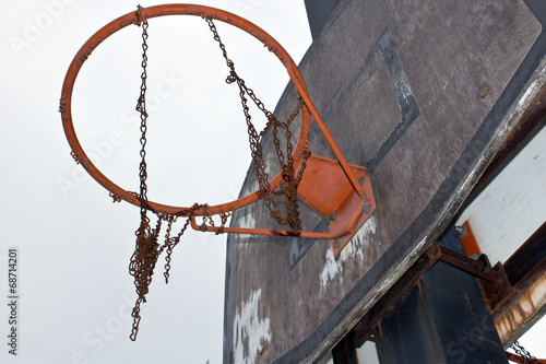 canvas print picture Basketball