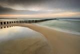 Wieczór nad morzem, plaża