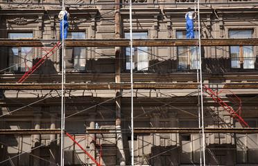 repair of buildings