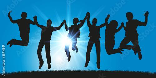 GROUPE SAUT - Ciel bleu Soleil - 68714847