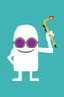 Постер, плакат: Animated personality welder