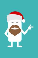 Animated personality Santa Claus