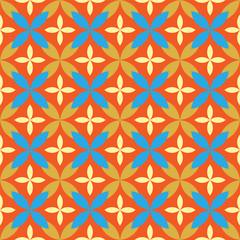 damask pattern. vector seamless wallpaper.