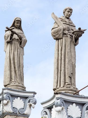 Statue in Basilica del Santo Nino. Cebu, Philippines. - 68716885
