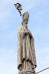 Statue in Basilica del Santo Nino. Cebu, Philippines.