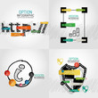 Hand drawn internet concepts and stickers